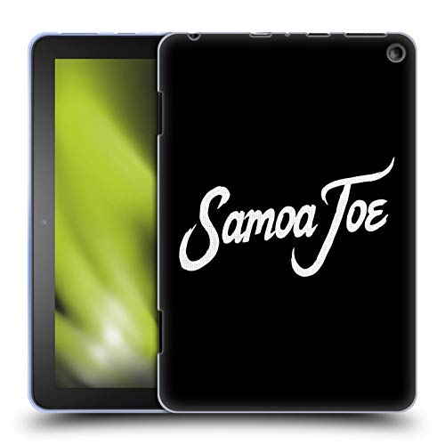 Head Case Designs Officially Licensed WWE Logo Samoa Joe Soft Gel Case Compatible with Fire HD 8/Fire HD 8 Plus 2020