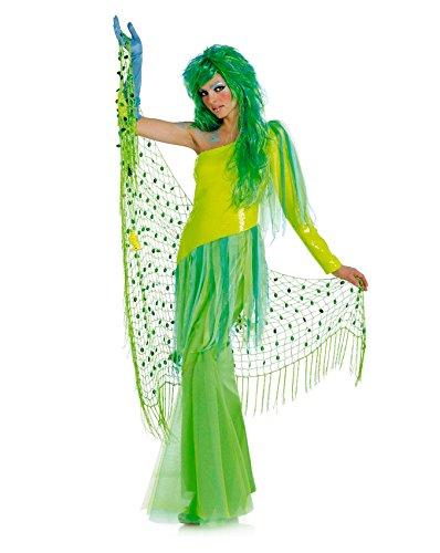 Burda 2411 Schnittmuster Kostüm Fasching Karneval Nixe Meerjungfrau (Damen, Gr. 36-48) – Level 3 Mittel