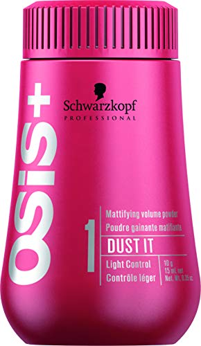 Schwarzkopf Professional OSiS+ Dust It Mattifying Volume Powder - Light Hold - 10g - Fijación Ligera