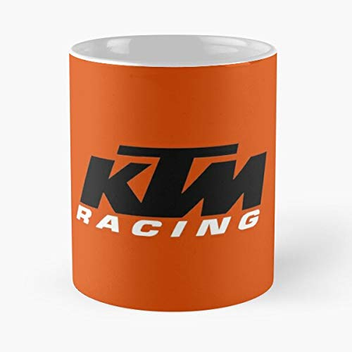 K-tm Racing Classic Mug -11 Oz Coffee - Funny Sophisticated Design Great Gifts White-situen.