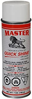 Master Quick Shine - Instant Shoe Shine Spray - 7 ounce can