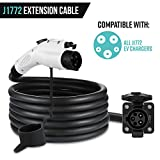 Lectron 40ft/12m J1772 Extension Cable Compatible with All J1772 EV Chargers - Flexible Charging for Your Electric Vehicle