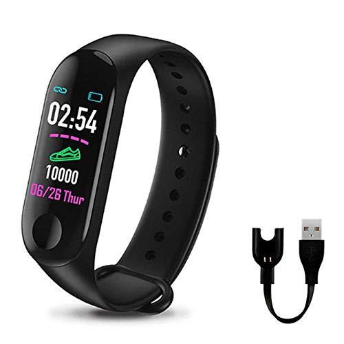 Orologio Intelligente Per Bambini Regalo M3 Smart Wristband Schermo A Colori Smart Band Ip67 Braccialetti Sportivi Intelligenti Impermeabili-4 Orologio Fitness Uomo Donna