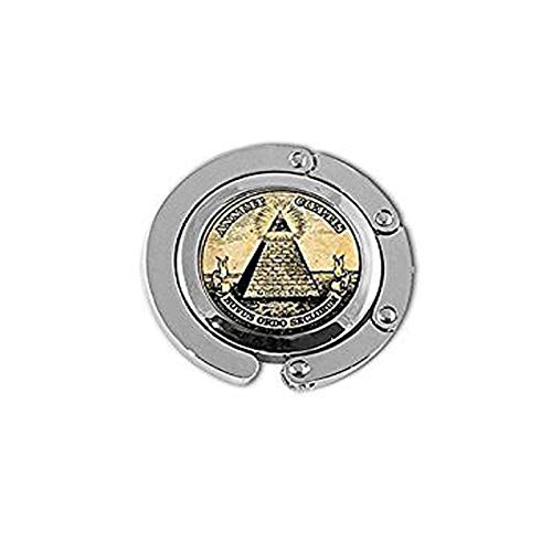 qws Vintage Symbol Freimaurer Illuminati Antik Druck Illustration Poster Glas Aufhänger
