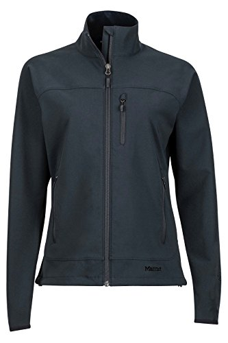 Marmot Women's Tempo Softshell Jacket, Jet Black, Small