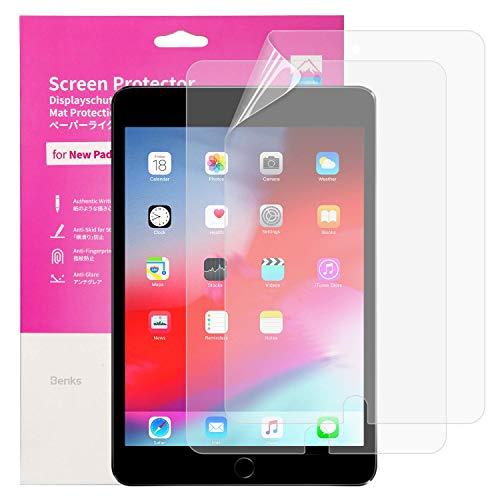 BENKS 2 Stück Bildschirmschutzfolie für iPad 10.2 (iPad 8. Generation/iPad 7. Generation) / iPad Air 3 (10.5 Zoll) / iPad Pro 10.5 Schutzfolie Matt Schreiben Paper Feel Folie