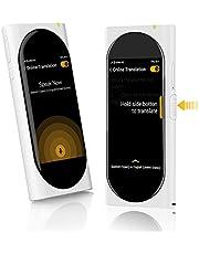 Langogo Genesis Portable Language Translator Device, 100+ Languages Pocket Translator, Real-time Voice Translator with Offline Translation, Built-in Data, 3.1inch Retina Display Traductor, Black