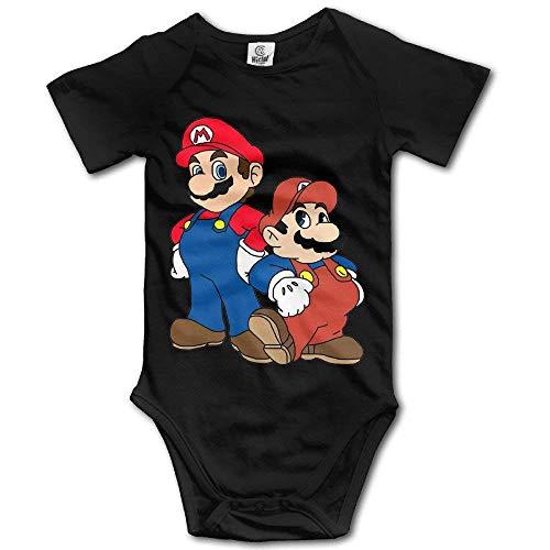 """WlQshop Lustiger Baby-Body mit Aufschrift """"The Super Mario Bros"""" Gr. 3 Monate, mehrfarbig"""