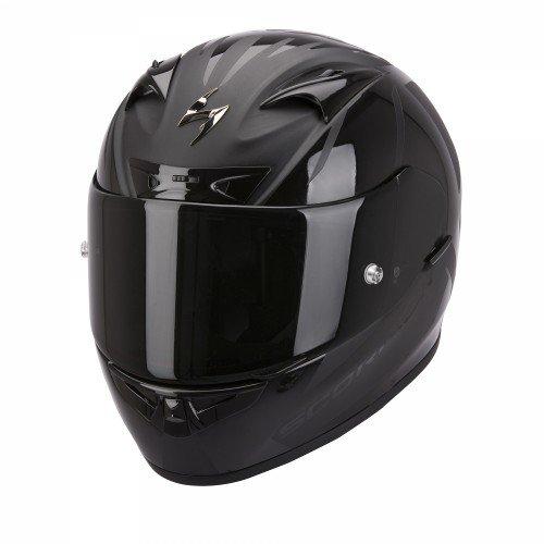 Scorpion EXO-710 AIR Spirit - Casco de moto, color negro