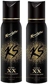 Kama Sutra XX Deodorant Body Spray for Men (120ml) - Pack of 2
