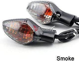 FidgetGear Turn Signal Indicator Light for Honda CBR500R/CB500F/CB500X/CBR650F/CB650F Smoke Front