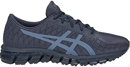 ASICS Men's Gel-Quantum 180 4 Running Shoes, 10.5M, Tarmac/Steel Blue