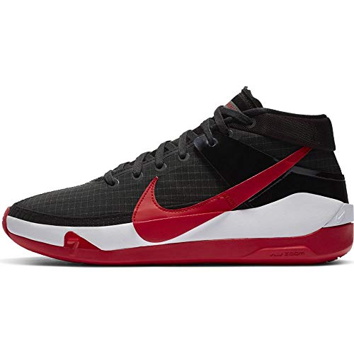 Nike Mens KD 13 Bred Basketball Shoes CI9948-002 (Numeric_9_Point_5)