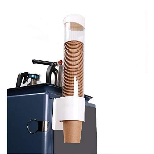 カップ ディスペンサー 口径7.5-9cm 8オンス、9オンス-14オンスの紙コップに合い 紙コップホルダー カッ...