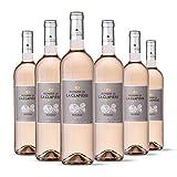 Domaine de la Clapiere la Muette - IGP Pays d'Oc - Vin Rosé - Millésime 2019 - Terra Vitis - Lot de 6 bouteilles x 75 cl