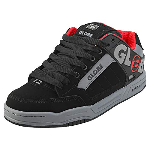 GLOBE Tilt, Zapatillas de Skateboard Hombre, Negro (Black/Carbon/Red 20494), 37 EU