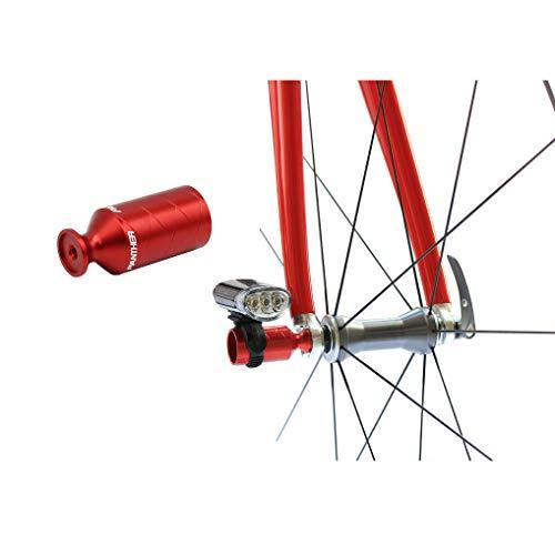 PANTHER (パンサー) 多色展開 アルミアルマイトカラー 自転車用 超軽量 アクセサリーホルダー ライトホルダー ハブパーツ リアディレーラー保護 ライトアダプター ロードバイク クロスバイク マウンテンバイク クイックリリース搭載自転車に全般対応