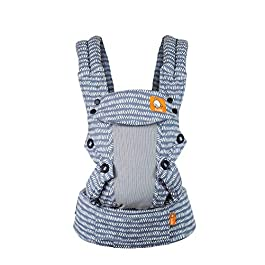 Baby Tula Coast Explore Mesh Baby Carrier, Adjustable Newborn to Toddler Carrier, Ergonomic and Multiple Positions for 7 – 45 pounds