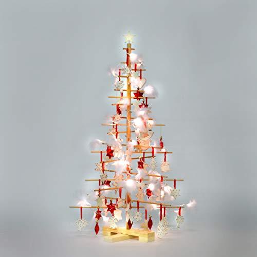 kruidvat houten kerstboom