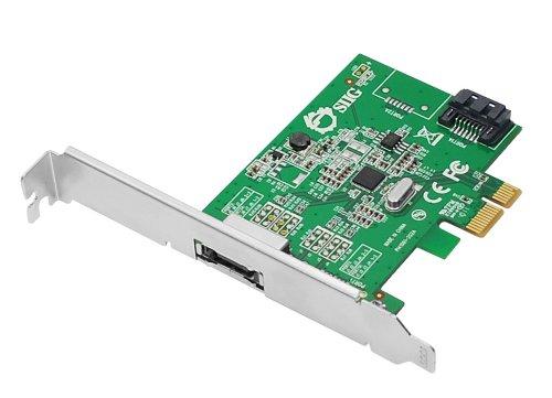 SIIG DP eSATA 6Gb/s 2-Port PCIe i/e Host-Adapter (SC-SA0N11-S1)