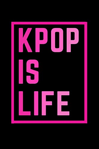 K-pop Blank Lined Journal Gift For Fans: Gayo book Inspired Notepad Ideal for School...