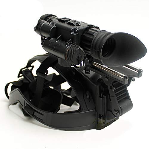 WOTR Infrarot-Nachtsichtgerät, Professionelles HD-Nachtsichtgerät, inklusive Kopfhalterung, leistungsstarkem Infrarotsensor für Beobachtungen in völliger Dunkelheit Sicherheit und Überwachung, Jagd