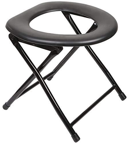 Kunida Designs Chaise de Toilette portative pour Camping de Camping - Commode de Chevet Pliante - Siège Vapeur Yoni - Petit Pot extérieur Pliable Porta pour Adultes