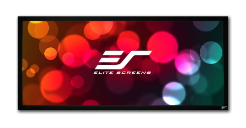 Elite Screens Rahmenleinwand 21:9 Cinemascope ezFrame 293 x 125 cm, 21:9 Format 125 Zoll, R125WH1-Wide
