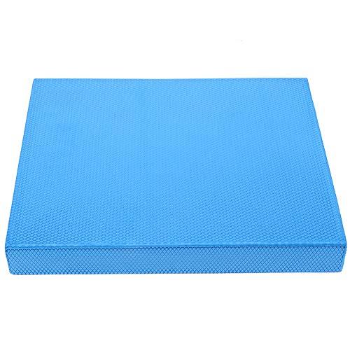 Weikeya Estera de Yoga Azul, TPE amigable para el Medio Ambiente 33 x 40 x 5 cm Equipo de Fitness Fitness Almohada de Refuerzo