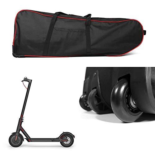 LIXADA スケボーバッグ キックボードバッグ 10インチ バッグ付きホイール 持ち運び用 収納バック