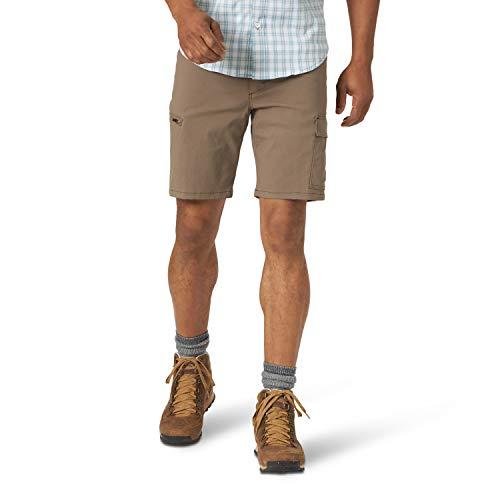 ATG by Wrangler Men's Asymmetric Cargo Short, Morel, 34