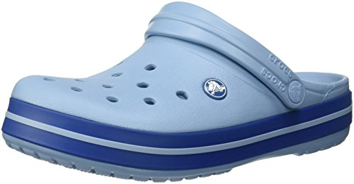 Crocs Crocband, Zuecos Unisex Adulto, Azul (Chambray Blue Jean), 37/38 EU