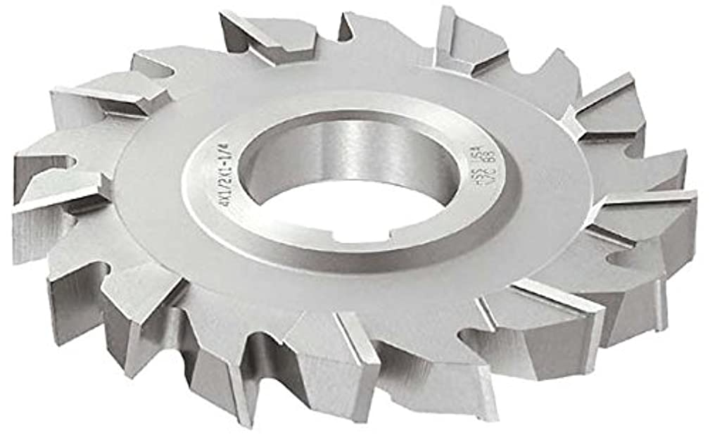 KEO Milling 83755 Staggered Tooth Milling Cutter,