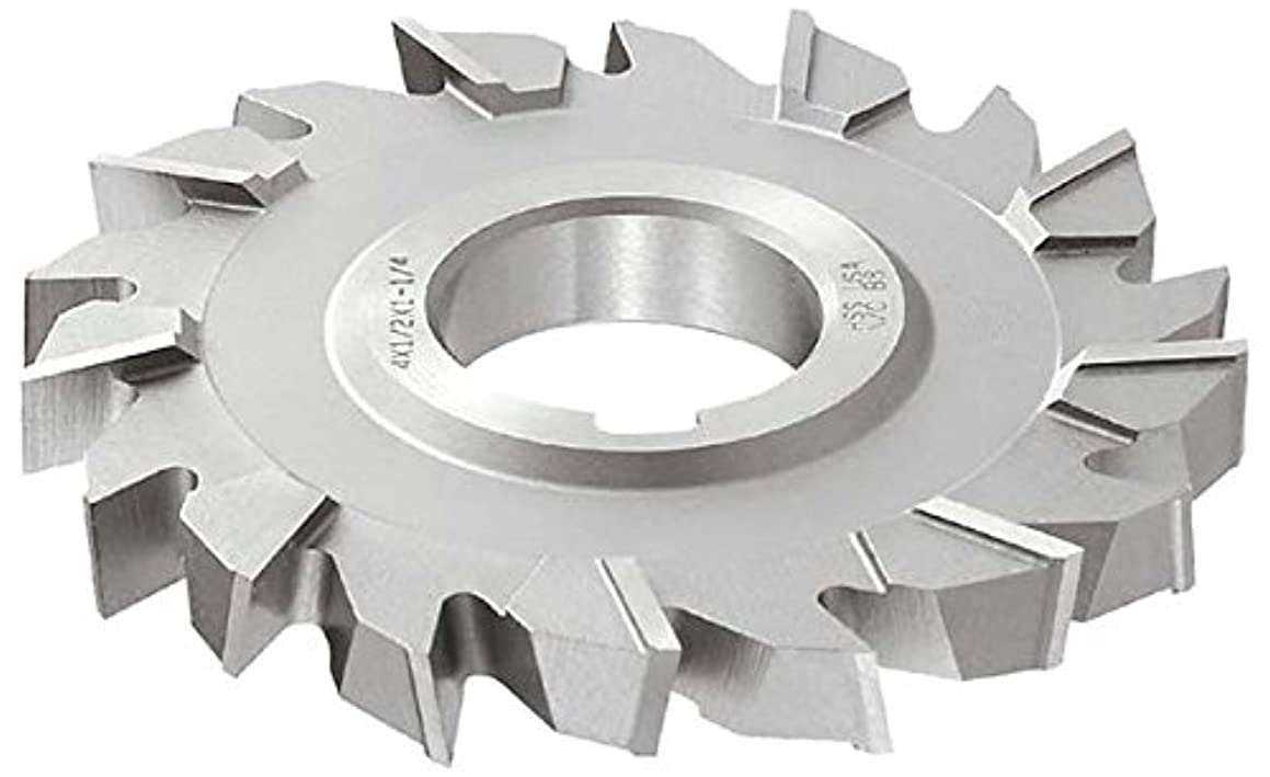 KEO Milling 83791 Staggered Tooth Milling Cutter,