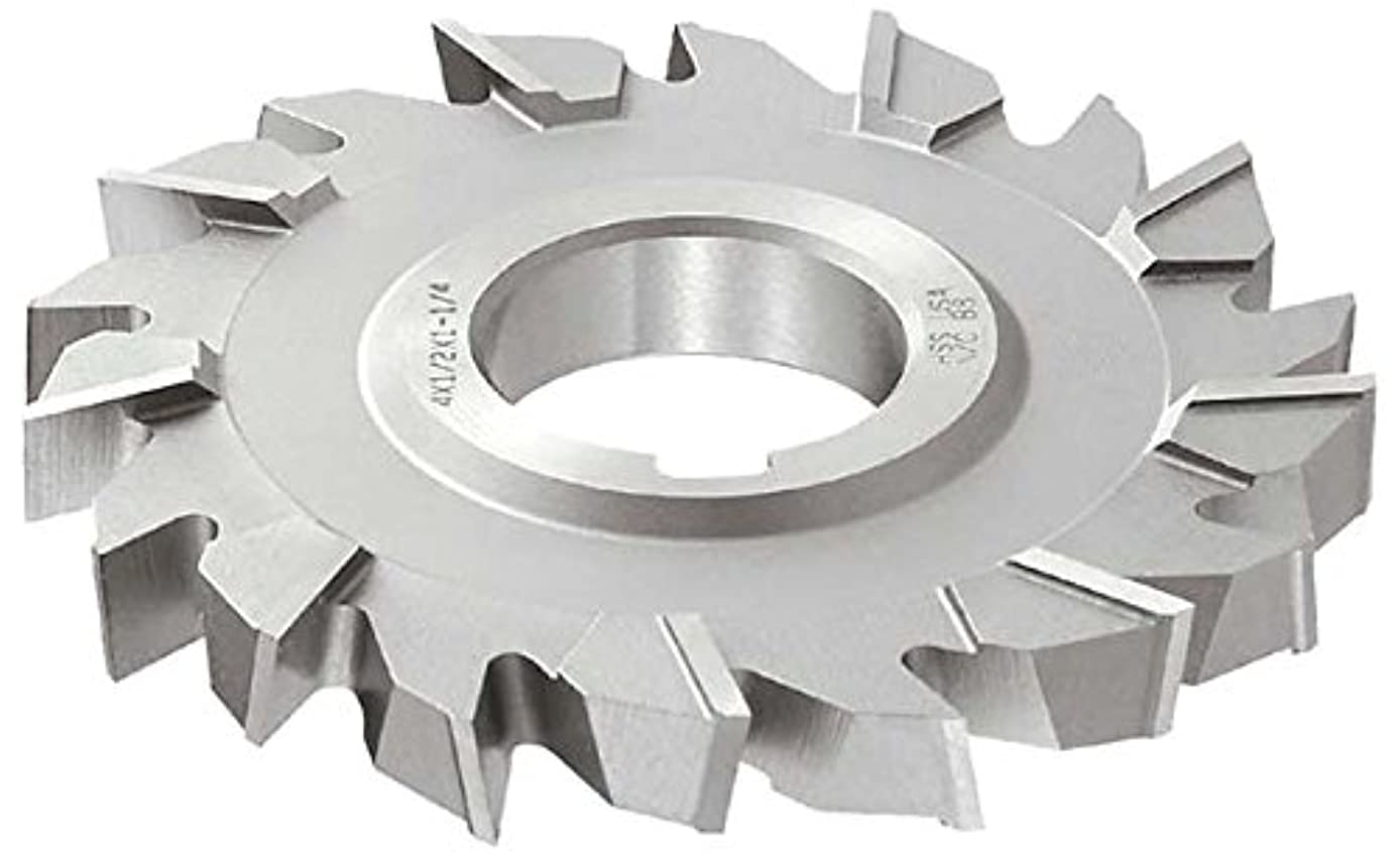 KEO Milling 83761 Staggered Tooth Milling Cutter,