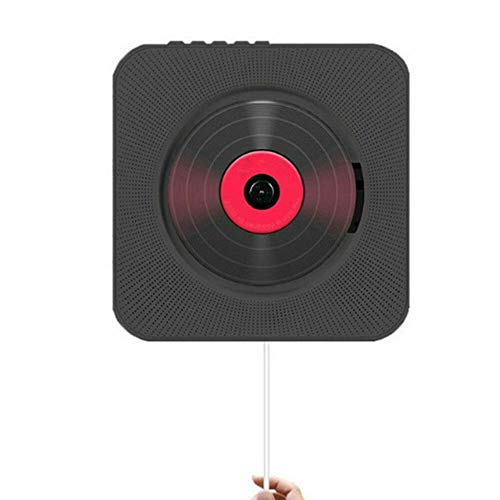 Review Of Red tide Wall Mounted CD Player, Surround Sound FM Radio Bluetooth USB MP3 Disk Portable M...