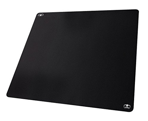 Ultimate Guard UGD010465 - Spielmatte 80 Monochrome 80 x 80 cm, schwarz