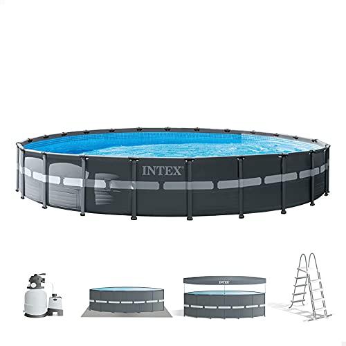Intex 26340NP - Piscina desmontable intex ultra xtr frame 732x132 cm con depuradora