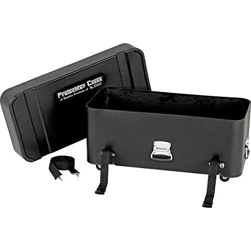 Gator Cases Protechtor Series Classic Super Compact Drum Hardware Accessory Case with Wheels; 30
