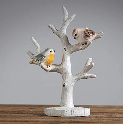 BXU-BG Decoraciones del Arte del Arte pájaros ramificaciones estanterías salón Ropa de hogar Tienda de vinos decoración Armario 1
