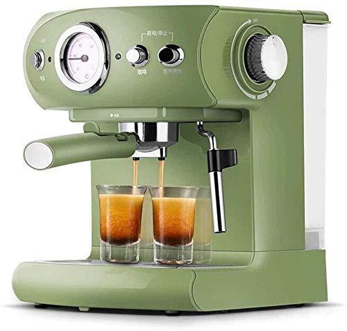 YINGGEXU Máquina de café de la máquina de café,Máquina de café italiana Semi-automática 19Bar Cafetera Eléctrica Espresso Cafetera,Hogar y comercial Full Semi-Automático Vapor Frothing