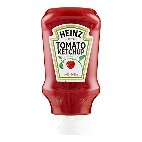 Heinz Ketchup Topdown Squeezable, 400ml