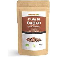 Granos de Cacao Crudo Ecológico 200g. 100 % Bio, Natural y Puro. Cultivado en Perú a partir de la planta Theobroma cacao. NaturaleBio