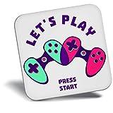 Destination Vinyl ltd Awesome Fridge Magnet - Gaming Gamer Controller Geek 14758