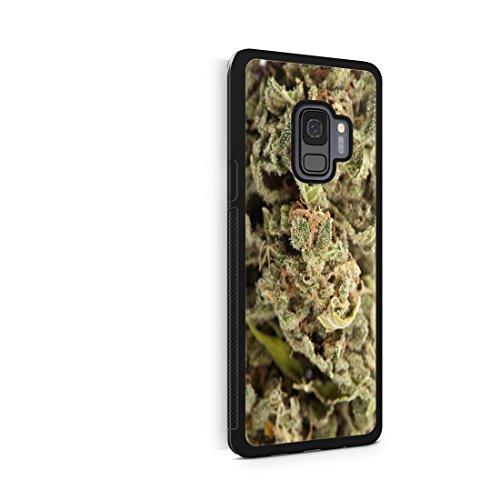 bud phone cases Marijuana Kush Weed Protective Rubber Phone Case 420 dank Bud (Galaxy s9)
