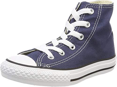 Converse - Converse All Star Scarpe Sportive Bambino Blu Tela Lacci 3J233C - Blu, 32
