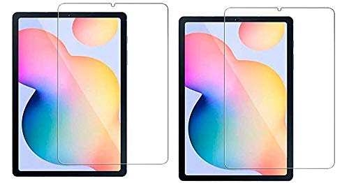 Colorcase Tablet Tempered Glass Screenguard Screen Protector for Samsung Galaxy Tab S6 LITE (10.4) (P610/P615) - {Transparent} - (Pack of 2)