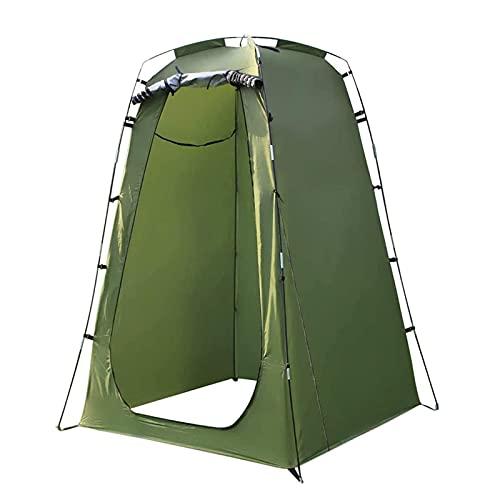 JQAM Tenda da bagno rimovibile Tenda da doccia per il Cambio, Spogliatoio da esterno con Borsa per il trasporto Tenda da viaggio per viaggi all'aperto Pesca Escursioni