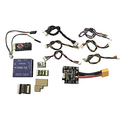Radiolink Turbo PIX V1.0 Module PPM SBUS Flight Controller W/Mini M8N GPS Flight Control SUI04 Ultrasonic Ranging Sensor for RC Drone Aircraft