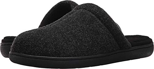 Tempur-Pedic Mens Gerrard Fabric Closed Toe Slip On Shoes, Charcoal, Size 9.0